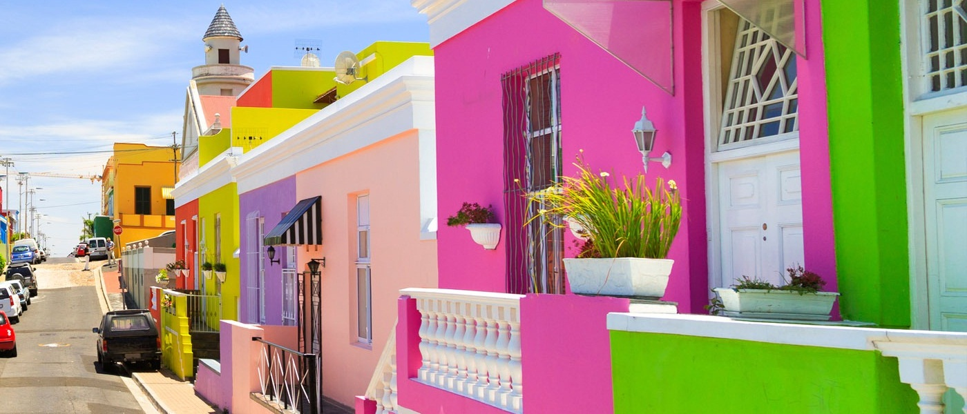 Vibrant Housing Models Like Bo-Kaap